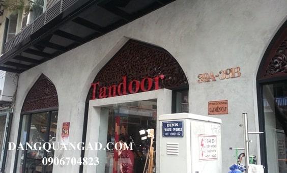 chữ nổi led tandoor