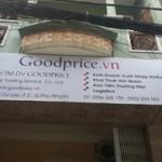 Thi công bảng hiệu công ty Goodprice