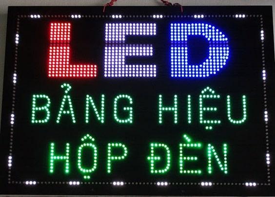 bảng hiệu led giá rẻ
