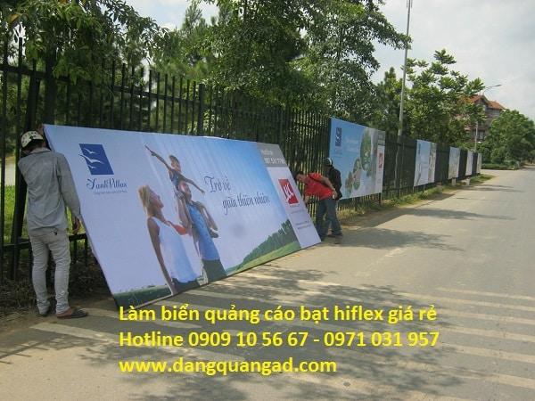 Làm biển quảng cáo bạt hiflex giá rẻ