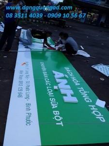 Làm bảng hiệu quảng cáo giá rẻ tại Bình Phước