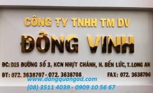 Làm bảng hiệu quảng cáo giá rẻ tại Long An