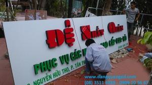 Thiết kế thi công bảng hiệu quảng cáo quận 7