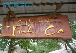 các mẫu bảng hiệu quán cafe đẹp và ấn tượng