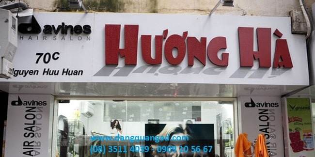 Làm bảng hiệu quảng cáo giá rẻ bình chánh