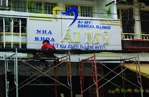 Làm bảng hiệu quảng cáo giá rẻ Quận Tân Bình