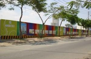 Làm hàng rào công trình giá rẻ TP HCM