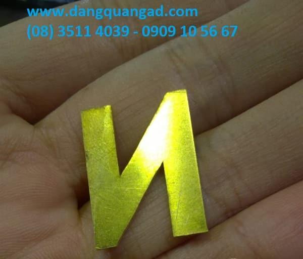 Gia công chữ nổi đồng chữ đồng giá rẻ và đẹp