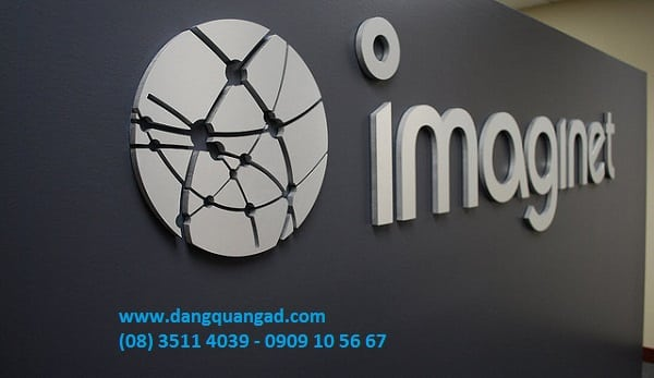 Làm logo nổi mica (logo 3D) giá rẻ TP HCM