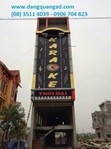 Thiết kế thi công bảng hiệu quán Karaoke