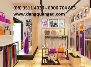 Thiết kế thi công showroom shop thời trang