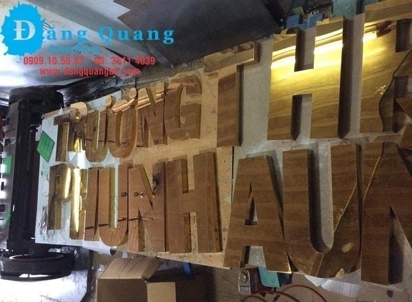 Gia công chữ nổi inox giá rẻ Bình thạnh TP HCM