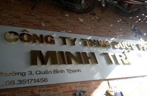 làm bảng hiệu alumium chữ nổi inox giá rẻ tp hcm