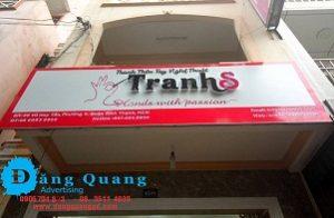 Lắp đặt bảng hiệu alu chữ nổi mica TRanhs Bình Thạnh