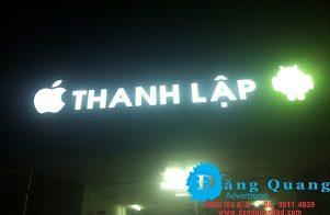 Lắp đặt bảng hiệu alu chữ nổi mica led Trảng Bom Thanh Lập Đồng Nai
