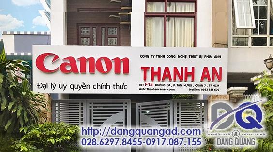 LAM BANG ALU CHU NOI AM LED CANON THANH AN QUAN 7 2