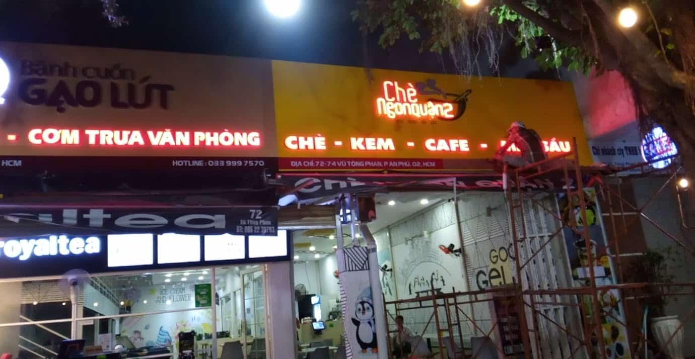 Đăng Quang là địa chỉ thi công biển hiệu café chất lượng
